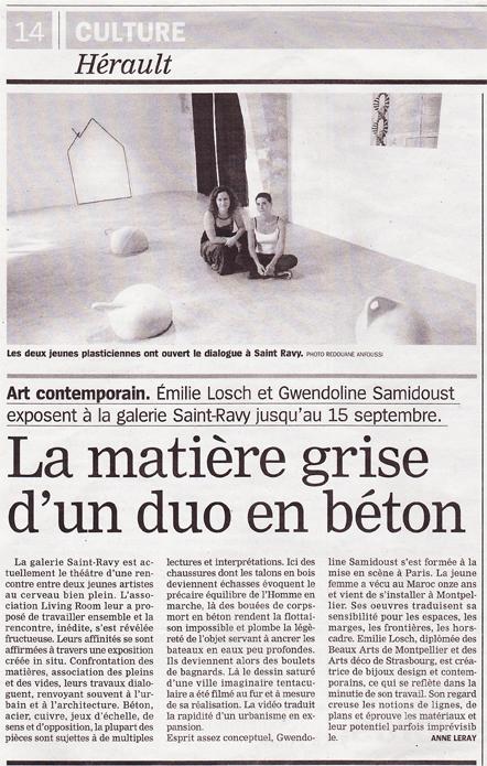 L'Hérault du jour - 10 sept. 2013
