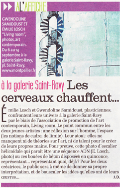 La Gazette - 5 sept 2013